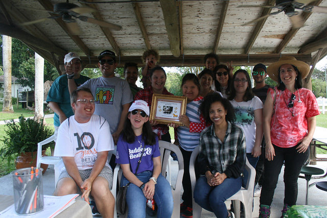 South Florida SPCA Welcomes Best Buddies to Rescue Ranch, Launches New TLC Brigade