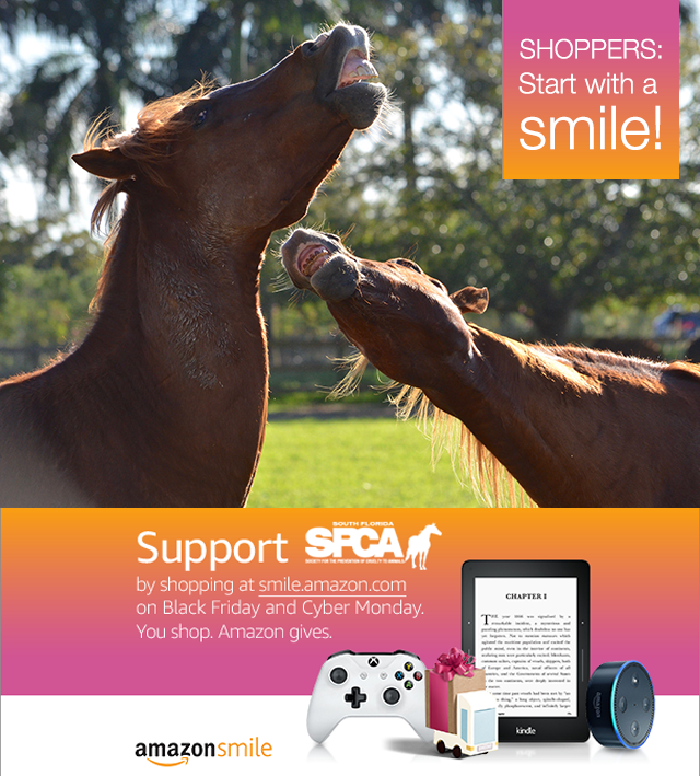 You Shop, Horses Win with AmazonSmile